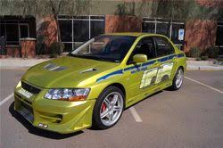 fast and furious evo 2002 mitsubishi lancer evolution vii the fast and the furious wiki