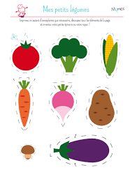 ma petite dinette les légumes free printables math and pe ideas
