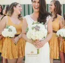 sunflower yellow bridesmaid dresses fancy bridesmaid dresses