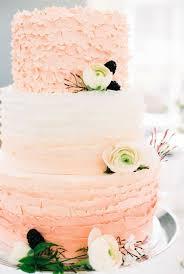 peach ombre wedding cake ruffle ombre wedding cake peach ombre wedding cake