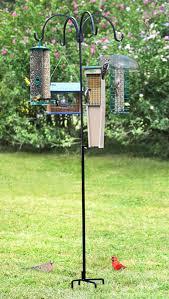 cast iron birdbath bracket plant hook hanger bird feeder mount