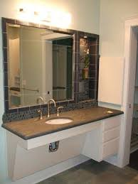 Bathroom Vanity Standard Depth Bathroom Best 25 Ada Ideas Only On Pinterest Handicap Wheelchair