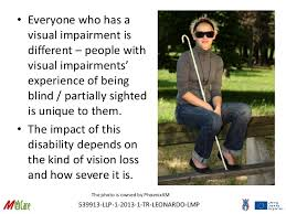 Is Being Blind A Disability 2 M Care Disability Awareness