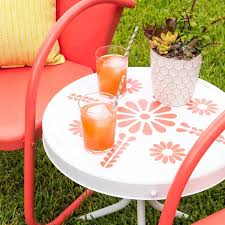 Used Patio Furniture Atlanta Best 25 Painted Patio Furniture Ideas On Pinterest Painted