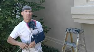 Exterior House Painting Preparation - how to prep and paint stucco valspar duramax elastomeric exterior