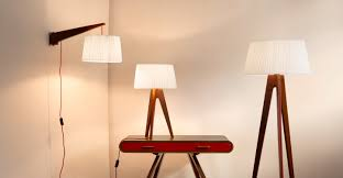 Miller Table Miller Table Lamp Walnut And Red Made Com
