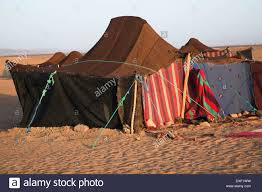 camel tents nomadic berber tents used as overnight c by tourist groups