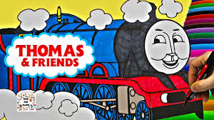 coloring book thomas friends education fun videos suprise