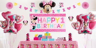 minnie mouse party supplies minnie mouse 1st birthday party supplies party city
