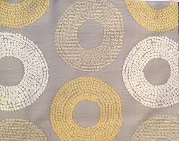 custom cream curtains with grey cream beige and citrine