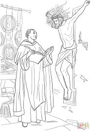 st thomas aquinas coloring page free printable coloring pages