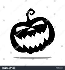 vector illustration halloween pumpkin icon stock vector 302340764