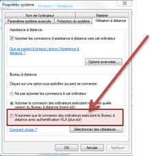 bureau a distance windows xp nla et windows xp vbrain bienvenue dans ma tête virtuelle