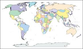 world map political with country names free free editable world map with country names