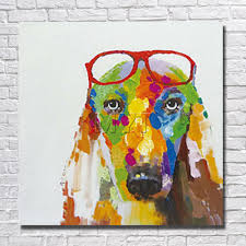 Home Goods Wall Decor by Online Get Cheap Fine Dog Art Aliexpress Com Alibaba Group
