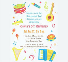 birthday party card template invitation birthday template word