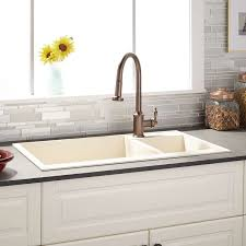 Bronze Kitchen Faucet Sinks Antique Bronze Kitchen Faucet And Copper Divided Kitchen