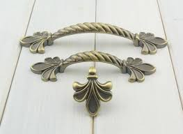 French Country Cabinet Hardware by Fleur De Lis Knob Drawer Pull Cabinet Door Handle Dresser Handles