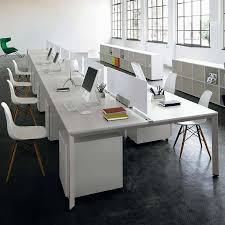 Modern Workstation Desk by China Modern White Open Office Desk Workstation Furniture Sz