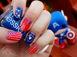 11 best labor day nails images on pinterest labor day 4th of