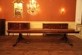 Large Conference Table Reproduction Style Mahogany Dining Or Conference Table