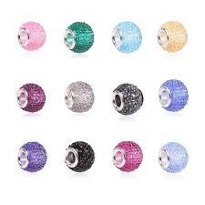 diy bracelet pandora beads images Colorful big crystal facets beads fit pandora bracelet charms jpg
