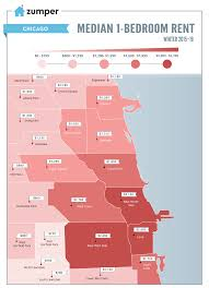 Maps Of Chicago Neighborhoods by Mapping Chicago U0027s Cheapest And Most Expensive Rent Prices March