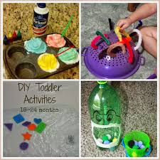 Diys To Do At Home by Easy Cheap Diy Toddler Activities Includes Activities To Teach