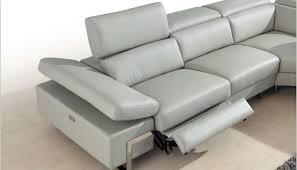 grey reclining sectional sofa russcarnahan com