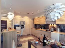 interior decor kitchen get the different sense of unusual kitchen set design
