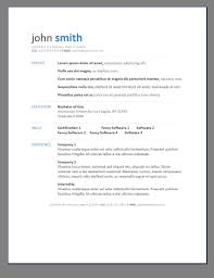 free resume templates 6 microsoft word doc professional job and
