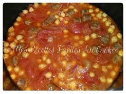 cuisiner pois chiche pois chiches tomates merguez recettes cookeo