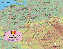 belguim map map of belgium map in the atlas of the world world atlas