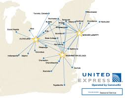 Southwest Route Map by Commutair To Shift Its Fleet To Newark And Washington Dulles