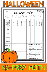 Fourth Grade Halloween Party Ideas by Best 25 Halloween Math Ideas On Pinterest Halloween Math