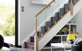 Stair Banister Combination Prefinished Stair Handrail Design Prefinished