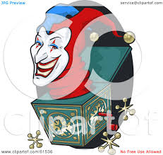 creepy clipart royalty free rf clipart illustration of a creepy jack in the box