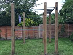 Backyard Pull Up Bar by 34 Best Diy Pull Up Bars Images On Pinterest Backyard Gym Pull