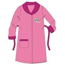 robe de chambre 2 ans peignoir polaire pat patrouille 2 ans clair robe de chambre