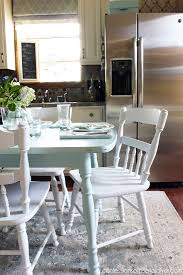 Painted Kitchen Table And Chairs by How To Paint A Laminate Kitchen Table Confessions Of A Serial Do