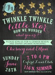 sip and shop invitation custom gender reveal party invitations u2013 merely madison designs