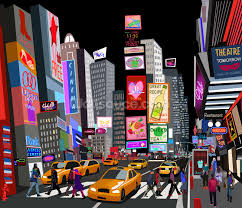 abstract ny times square wallpaper wall mural wallsauce usa abstract ny times square wall mural photo wallpaper