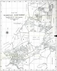 Clark College Map New Jersey Historical Maps