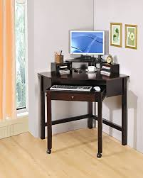 Wood Computer Desk With Hutch Foter by Desk Perfect Compact Corner Computer Desk On Home Office Corner