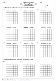 free printable perimeter worksheets free worksheets library