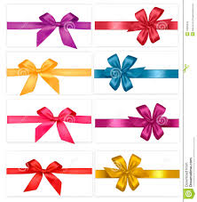 bows and ribbons big set of gift bows with ribbons vector stock vector