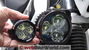 Light Bar For Motorcycle Clearwater Darla Lights Review Webbikeworld