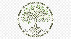 tree of celts symbol celtic knot tree circle png