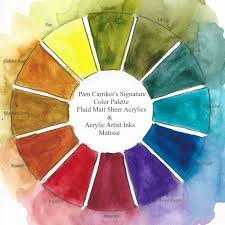 color wheel art at the speed of life