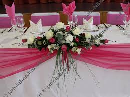 table decoration for wedding party wedding top table decorations wedding decoration ideas gallery